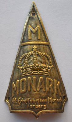 Monark Head Badge