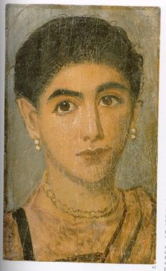 Portrait du fayoum - Musée du Louvre - Femme_12349167823_o