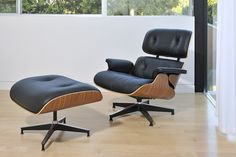 Eames Lounge Chair. An all time favorite.