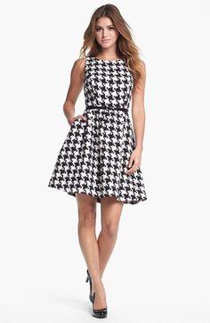 cute fit & flare dress