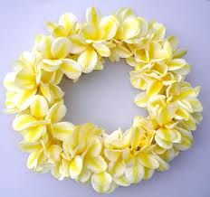 "Frangipani (plumeria) are plentiful in the islands and one of the easiest flower leis to make.  Learn how to make the lei - it makes a fast, easy and inexpensive ""thinking of you"" gift for any occasion."