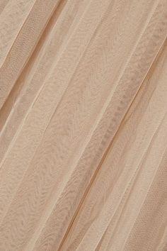 Needle & Thread - Tulle Maxi Skirt - Beige - UK10