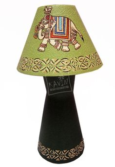 Decorative elephant #lamp shade with 38% discount buy from #craftshopsindia