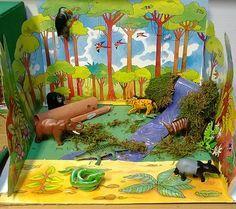 ks2 rainforest model - Google Search