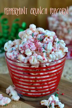 You're going to love the fabulous flavor and satisfying crunchy sweetness of this Peppermint Crunch Popcorn!