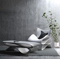 @ai_build partner with @cucunefurniture to bring sustainable 3D printed furniture! #instadesign #designbunker #designlovers #designporn…