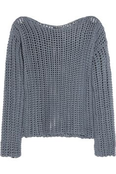 ZADIG & VOLTAIRE  Master Deluxe open-knit cotton sweater