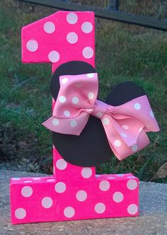 Minnie Mouse Mickey Mouse Birthday by LaurensPreciousGifts on Etsy