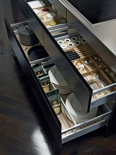 Kitchens from the SieMatic German producer
