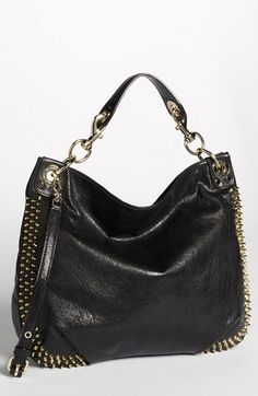 Rebecca Minkoff 'Mini-Luscious' Studded Hobo, Large | Nordstrom