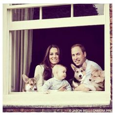 """""""Royals"""" from left to right: Linus, Clementine and me! :D"""