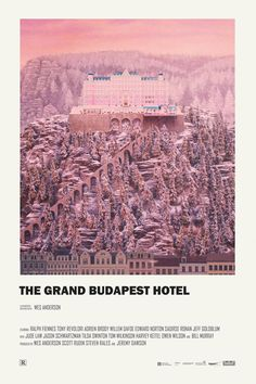 The Grand Budapest Hotel alternative movie poster Print available HERE