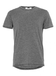 GRAULanges T-Shirt, anthrazit