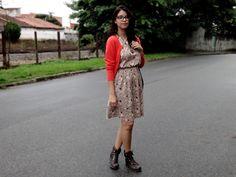 Look: Vestido floral
