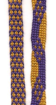 Kumihimo - ayatakedai braids