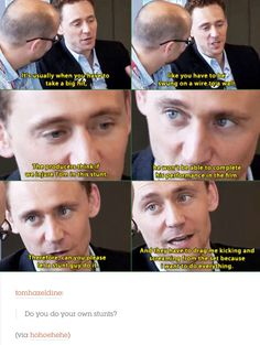 Oh Tom, you would