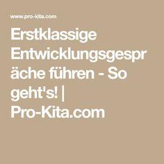 Erstklassige Entwicklungsgespräche führen - So geht's! | Pro-Kita.com