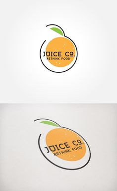 smoothies, punches, bottled cold press juices and healthy snacks to people that eat to live, need natures natural energy boost, and on-the-go looking for healthy food alternatives. Juice Logo, Juice Branding, Logo Branding, Branding Design, Design Logos, Food Logo Design, Logo Food, Food Brand Logos, Logo Inspiration