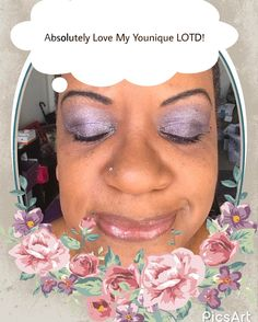 Quick n Easy Weekend Look! Younique Cypress Liquid foundation! Addiction Palette #3-Flippant & Smitten. Crease-Cheeky! Lip gloss-Loveable! Dont be afraid of color!  #lotd #loveyourself #loveyounique #loveit #quickandeasy #weallarebeautiful
