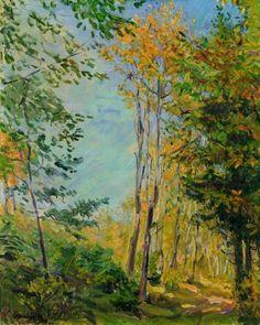 Max Slevogt - Herbstwald (1906)