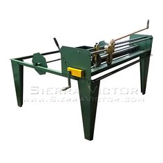 NEW MODEL! 5' TIN KNOCKER® Liner Table. Model TK5. The Tin Knocker manual insulation cutter slits fiberglass insulation to length and width. For more information or to order, CALL 386-304-3720, VISIT http://sierravictor.com/index.php?dispatch=products.view&product_id=3991