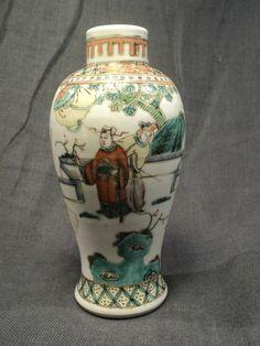 datant chinois Tabatière bouteilles