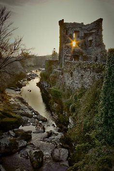 Carriganass Castle, Cork, Ireland  photo via rebecca