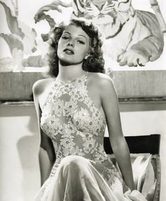"""Rita Hayworth """"they went to bed with Gilda, but woke up with me"""""""