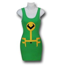 Images of Loki Costume Juniors Tank Dress