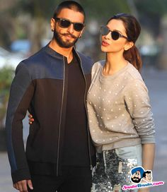 Promotion of Bajirao Mastani -- Ranveer Singh and Deepika Padukone Picture # 325014
