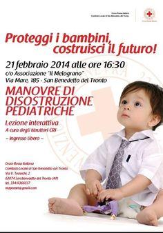 Lezione sulle manovre di disostruzione pediatrica - San Benedetto del tronto