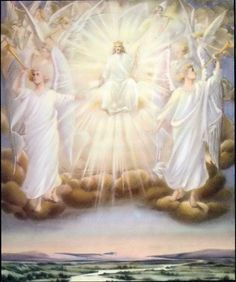 Background picture of Our Lord and Savior Jesus Christ second coming from the clouds Christ second coming from heaven in the clouds - Beau. Image Jesus, Jesus Christ Images, Angel Pictures, Jesus Pictures, Heaven Pictures, Jesus E Maria, Jesus Second Coming, Angel Quotes, Bible Quotes