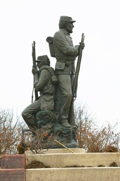 The Army of the Confederate States of America (ACSA) was the regular army, provided for by Act of Confederate Congress on March 6, 1861. The men serving in the highest rank as Confederate States Generals, such as Samuel Cooper and Robert E. Lee, were enrolled in the ACSA to ensure that they outranked all militia officers. Confederate Statues, Confederate Monuments, Confederate States Of America, Confederate Flag, American Civil War, American History, Civil War Quotes, General Robert E Lee, War Memorials