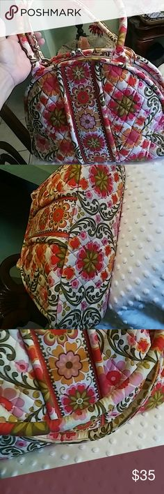 VERA BRADLEY PURSE Almost without tags. Super clean Vera Bradley Bags Satchels