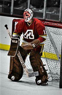 Rejean Lemelin--Atlanta Hockey back in the day Nhl Hockey Teams, Hockey Goalie, Hockey Games, Canadian Hockey Players, Nhl Players, Atlanta, Calgary, Goalie Mask, Nfl Fans