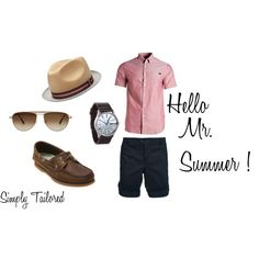 Hello Mr. Summer can't wait for the warm weather created by simplygorgeous-stylin on Polyvore