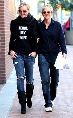 #Ellen #Portia #Lovely #LGBT