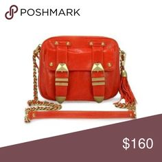 Rebecca Minkoff | Boyfriend Bag Gently worn. Dark coral/dusty red color with gold hardware. Authentic! More photos on request.    • no paypal • no trades • no offers please - prices are firm • ask questions before buying • smoke free home • 20% discount on bundles • Rebecca Minkoff Bags Crossbody Bags