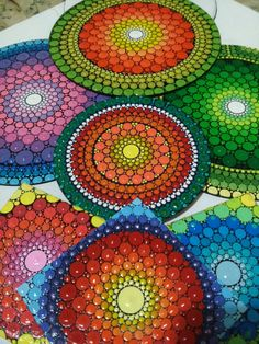 Natalia Richetti #Mandala #dot #art