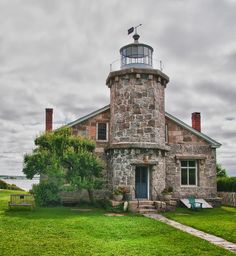 The Stonington Harbor Light is a historic nineteenth century lighthouse made of granite. It was built in 1824. The site is now home to Stonington Historical Society, which uses the building as The Old Lighthouse Museum. Holdings in the museum document the area's long and distinguished cultural and nautical history.