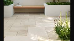 Beachside is a stunning new addition to the Stonemarket paving range. For the full Stonemarket natural stone range visit the website. Garden Slabs, Patio Slabs, Patio Tiles, Garden Paving, Patio Stone, Patio Roof, Outdoor Paving, Indoor Outdoor, Outdoor Spaces