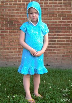 Swim Cover up from Siestas and Sewing: Swim Lessons!