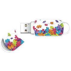 Stick usb 8gb xpression puzzle mix