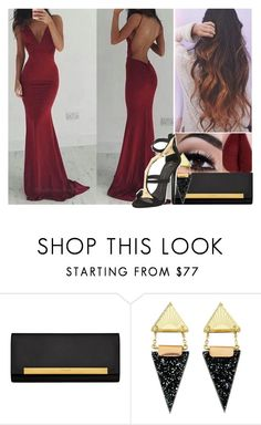 """""""Stunning n' Classy (read description)"""" by jo-ellehadi ❤ liked on Polyvore featuring Yves Saint Laurent, Wolf & Moon and Giuseppe Zanotti"""