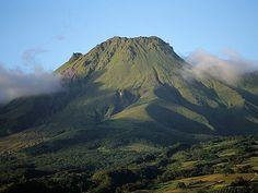 Mount Pelée, Martinique,  today