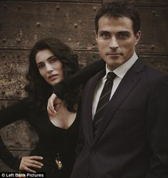 Rufus Sewell as Aurelio Zen on Masterpiece Mystery - love!
