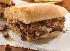 Slow Cooker Easy French Dip Sandwiches Recipe - Tablespoon