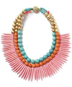 Check Out The Best Bright Statement Necklaces Straight Outta The 305
