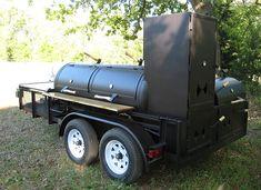 New Yorker BBQ Pits, Custom Smokers, & Barbecue Trailers Custom Bbq Smokers, Custom Bbq Pits, Bbq Smoker Trailer, Bbq Pit Smoker, Backyard Smokers, Outdoor Bbq Kitchen, Hawaiian Bbq, Texas Bbq, Smoke Grill