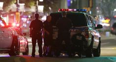 """(PHOTO: ASSOCIATED PRESS)  Dallas Shooter Named As Micah Xavier Johnson, A US Army Reserve  Police used explosives strapped to a robot to 'blast him out'.  """"The suspect stated that he wanted to kill white people, especially white officers. The suspect stated that we will eventually find the IEDs."""